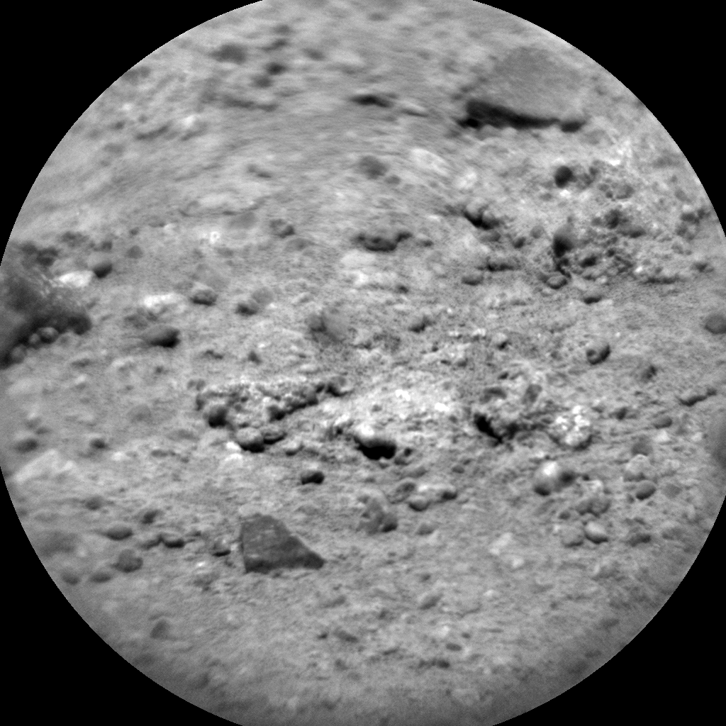 Nasa's Mars rover Curiosity acquired this image using its Chemistry & Camera (ChemCam) on Sol 343, at drive 236, site number 9