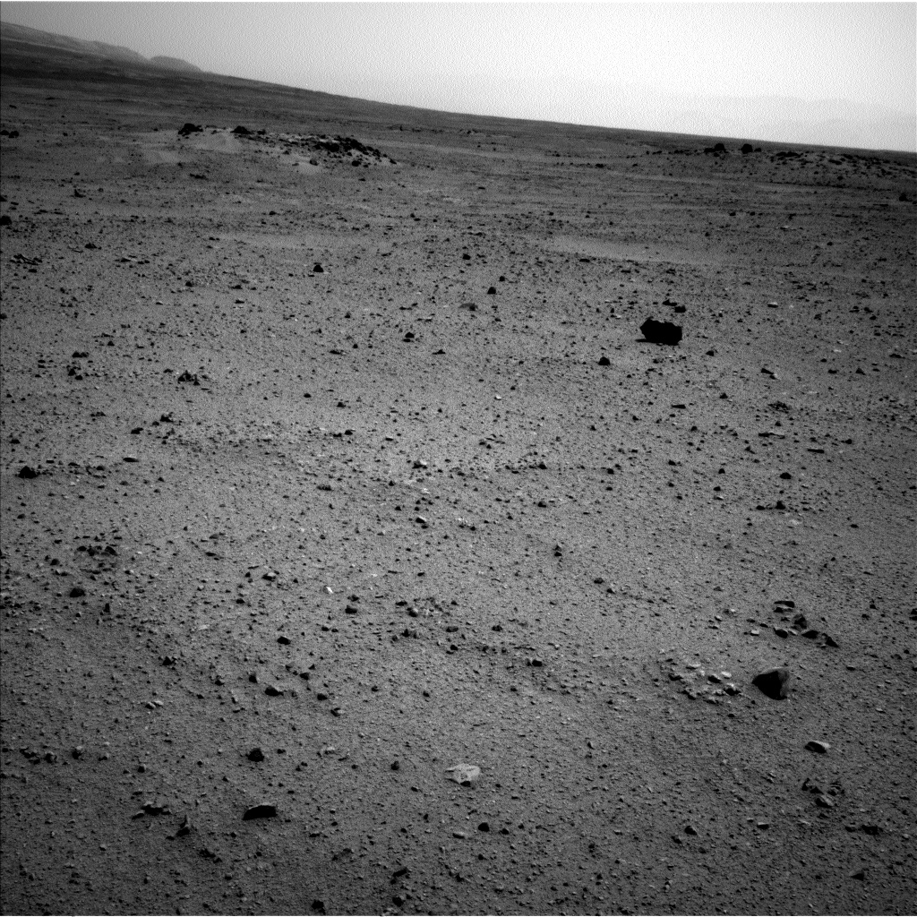 Nasa's Mars rover Curiosity acquired this image using its Left Navigation Camera on Sol 344, at drive 0, site number 10