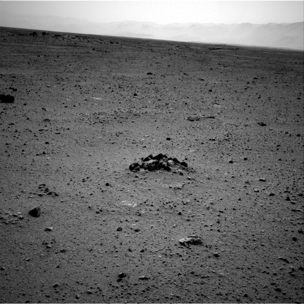 Nasa's Mars rover Curiosity acquired this image using its Right Navigation Camera on Sol 344, at drive 0, site number 10