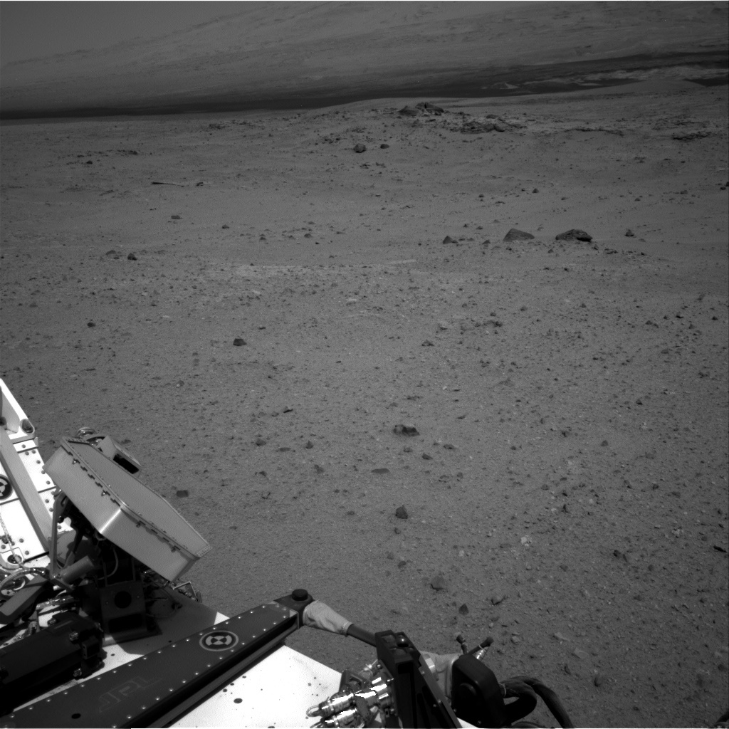 NASA's Mars rover Curiosity acquired this image using its Right Navigation Cameras (Navcams) on Sol 344
