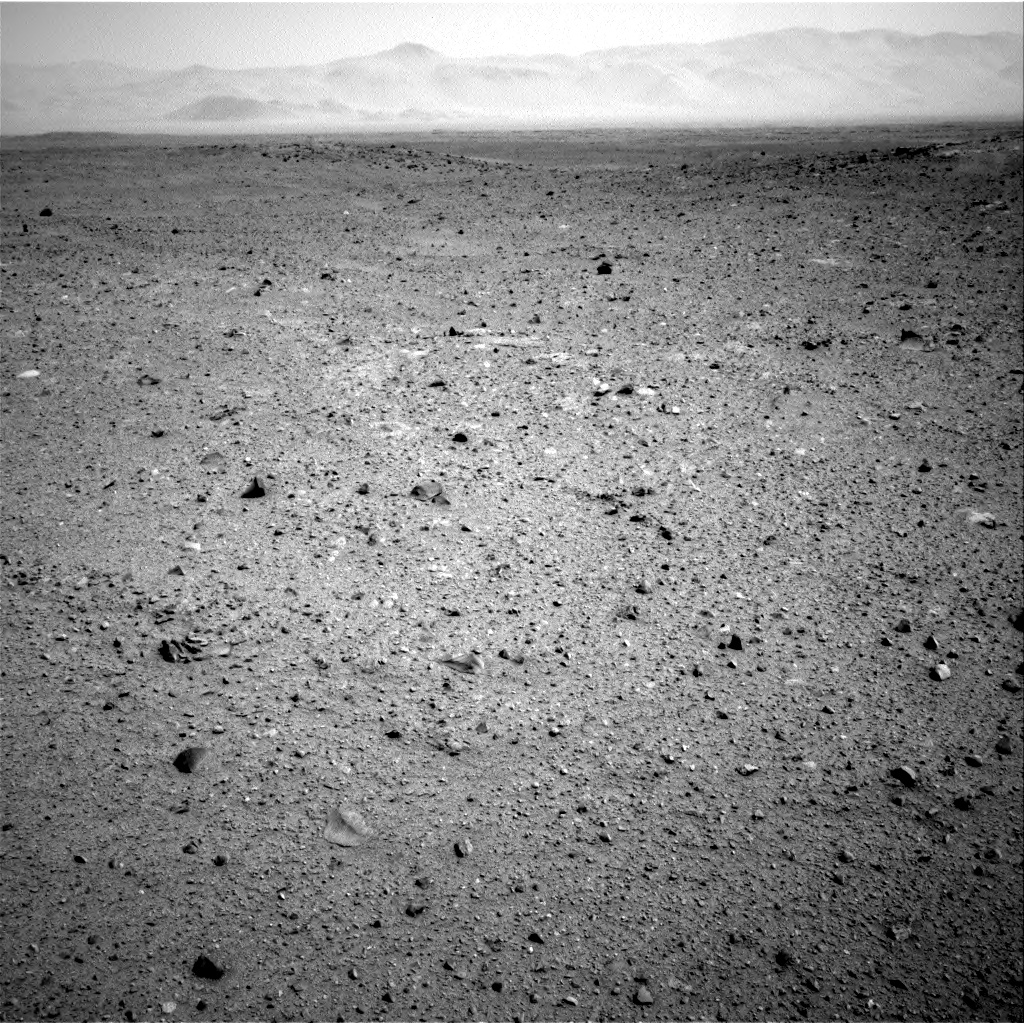 Nasa's Mars rover Curiosity acquired this image using its Right Navigation Camera on Sol 345, at drive 0, site number 10
