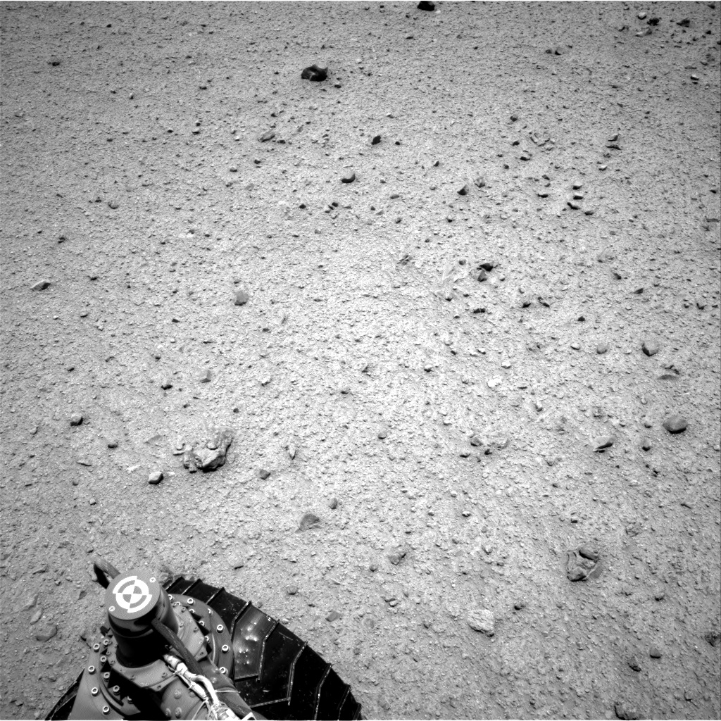 Nasa's Mars rover Curiosity acquired this image using its Right Navigation Camera on Sol 345, at drive 288, site number 10