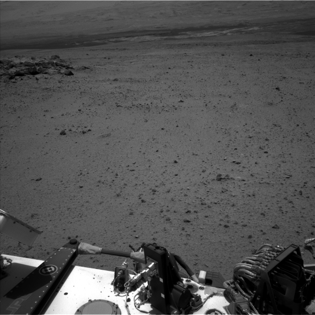 NASA's Mars rover Curiosity acquired this image using its Left Navigation Camera (Navcams) on Sol 346
