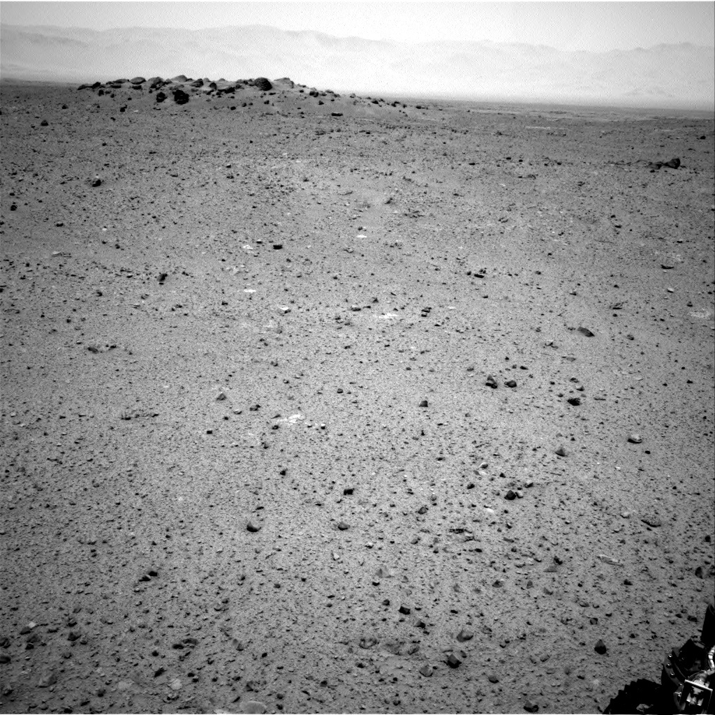 NASA's Mars rover Curiosity acquired this image using its Right Navigation Cameras (Navcams) on Sol 346