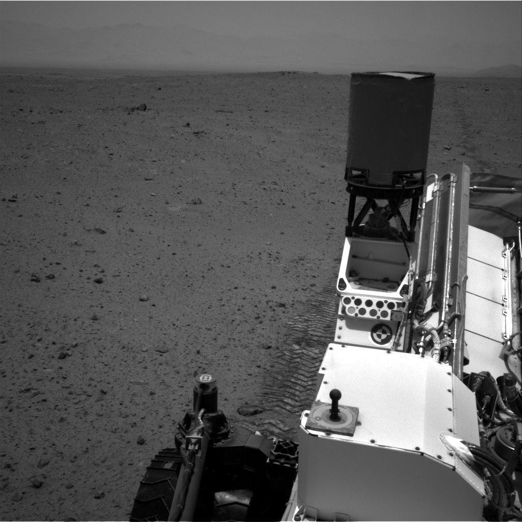 Nasa's Mars rover Curiosity acquired this image using its Right Navigation Camera on Sol 346, at drive 288, site number 10