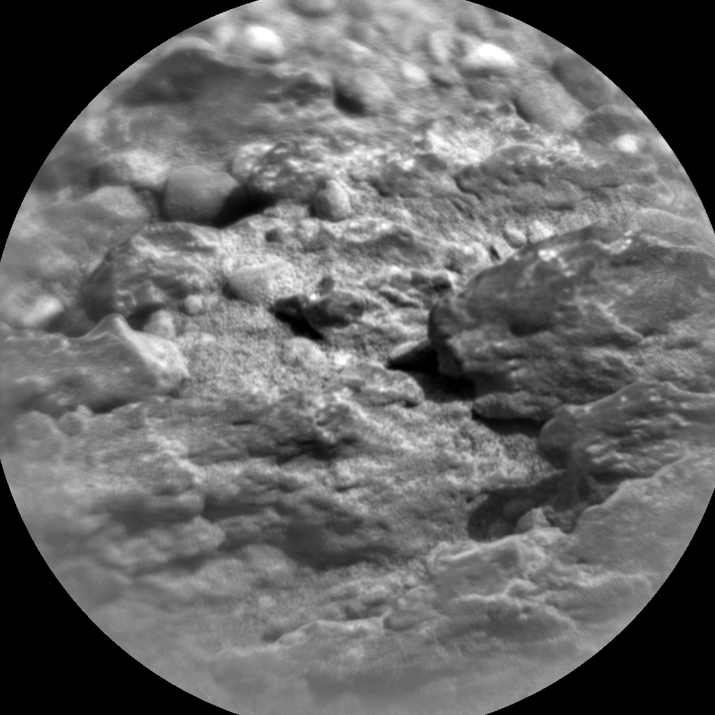 Nasa's Mars rover Curiosity acquired this image using its Chemistry & Camera (ChemCam) on Sol 346, at drive 288, site number 10