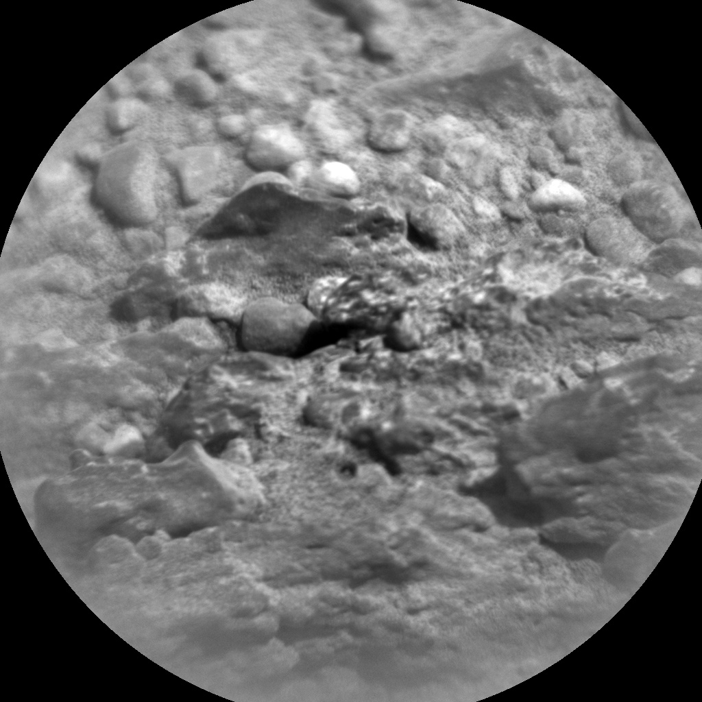 NASA's Mars rover Curiosity acquired this image using its Chemistry & Camera (ChemCam) on Sol 346