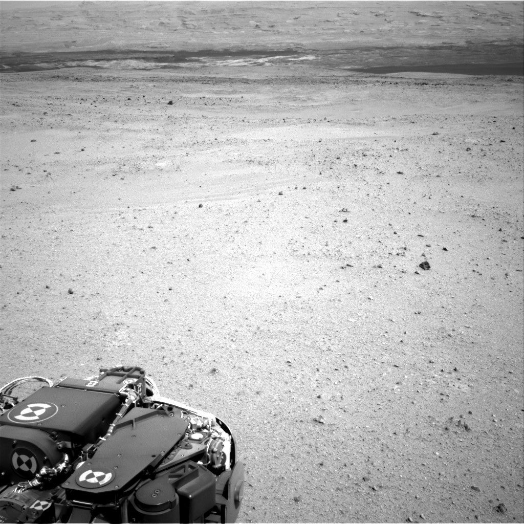NASA's Mars rover Curiosity acquired this image using its Right Navigation Cameras (Navcams) on Sol 347