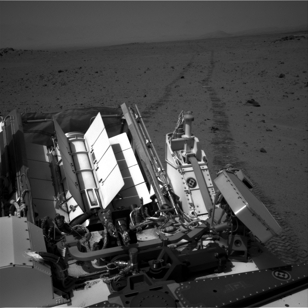 Nasa's Mars rover Curiosity acquired this image using its Right Navigation Camera on Sol 347, at drive 508, site number 10