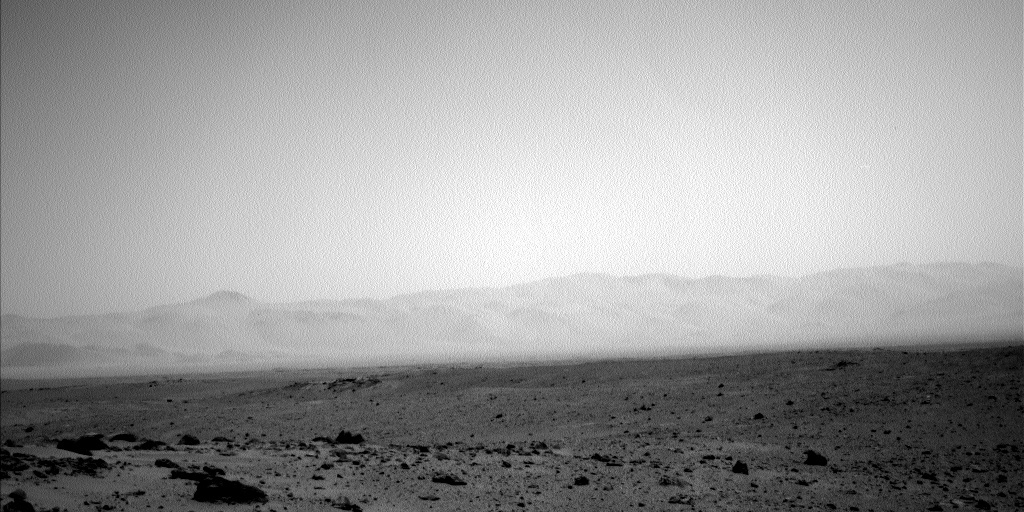 NASA's Mars rover Curiosity acquired this image using its Left Navigation Camera (Navcams) on Sol 348