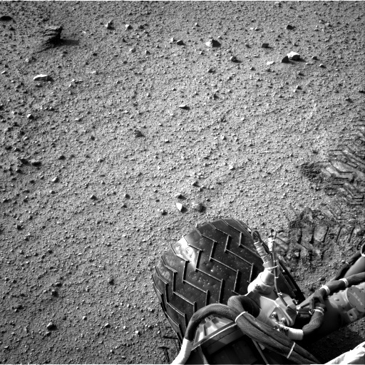 NASA's Mars rover Curiosity acquired this image using its Right Navigation Cameras (Navcams) on Sol 349