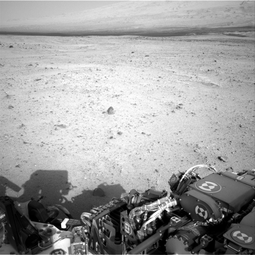 Nasa's Mars rover Curiosity acquired this image using its Right Navigation Camera on Sol 349, at drive 0, site number 11