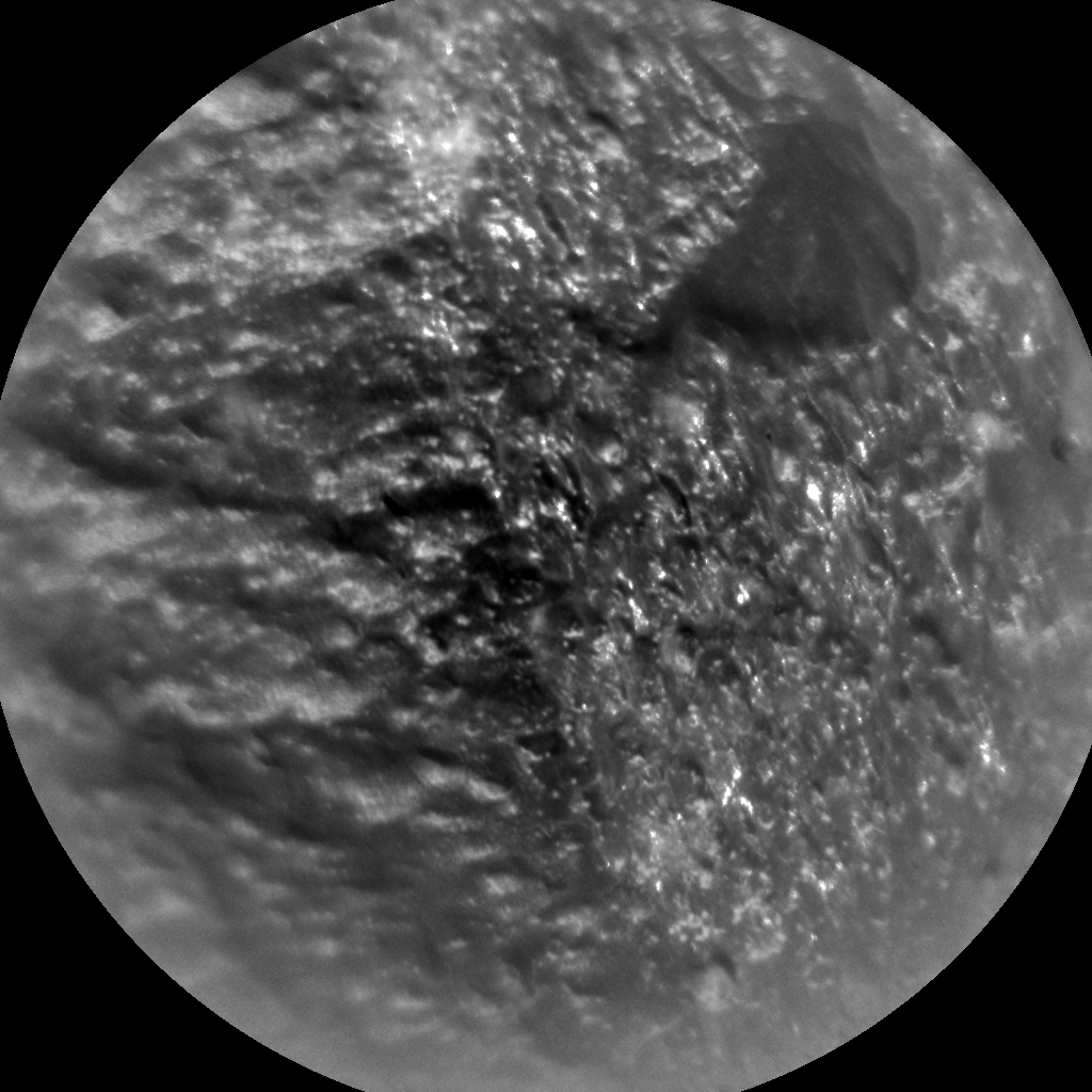 Nasa's Mars rover Curiosity acquired this image using its Chemistry & Camera (ChemCam) on Sol 349, at drive 508, site number 10