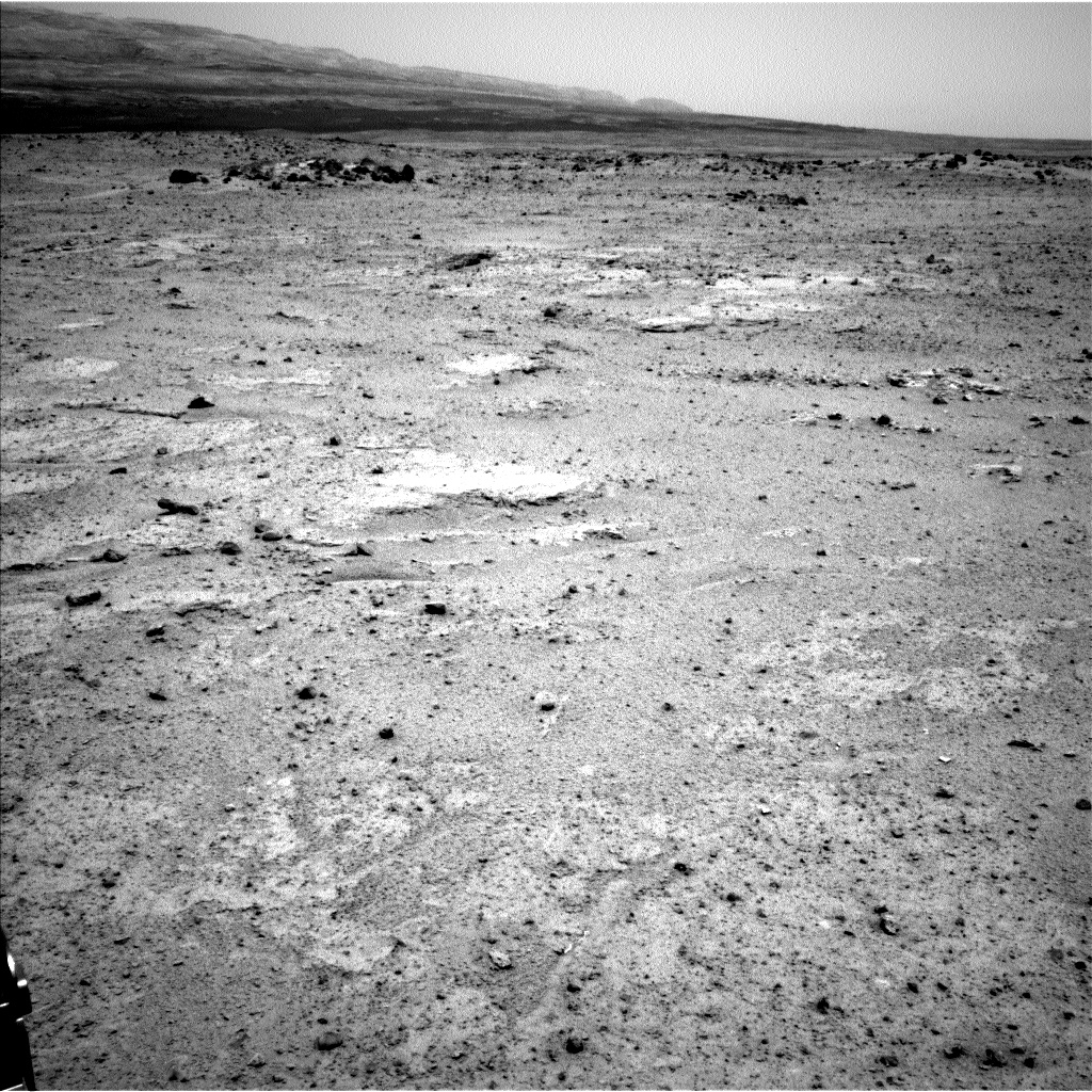 Nasa's Mars rover Curiosity acquired this image using its Left Navigation Camera on Sol 351, at drive 302, site number 11