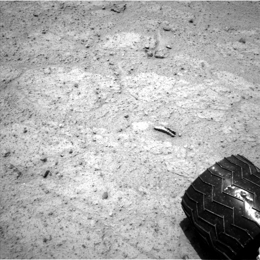 NASA's Mars rover Curiosity acquired this image using its Left Navigation Camera (Navcams) on Sol 351