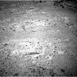 NASA's Mars rover Curiosity acquired this image using its Right Navigation Cameras (Navcams) on Sol 351
