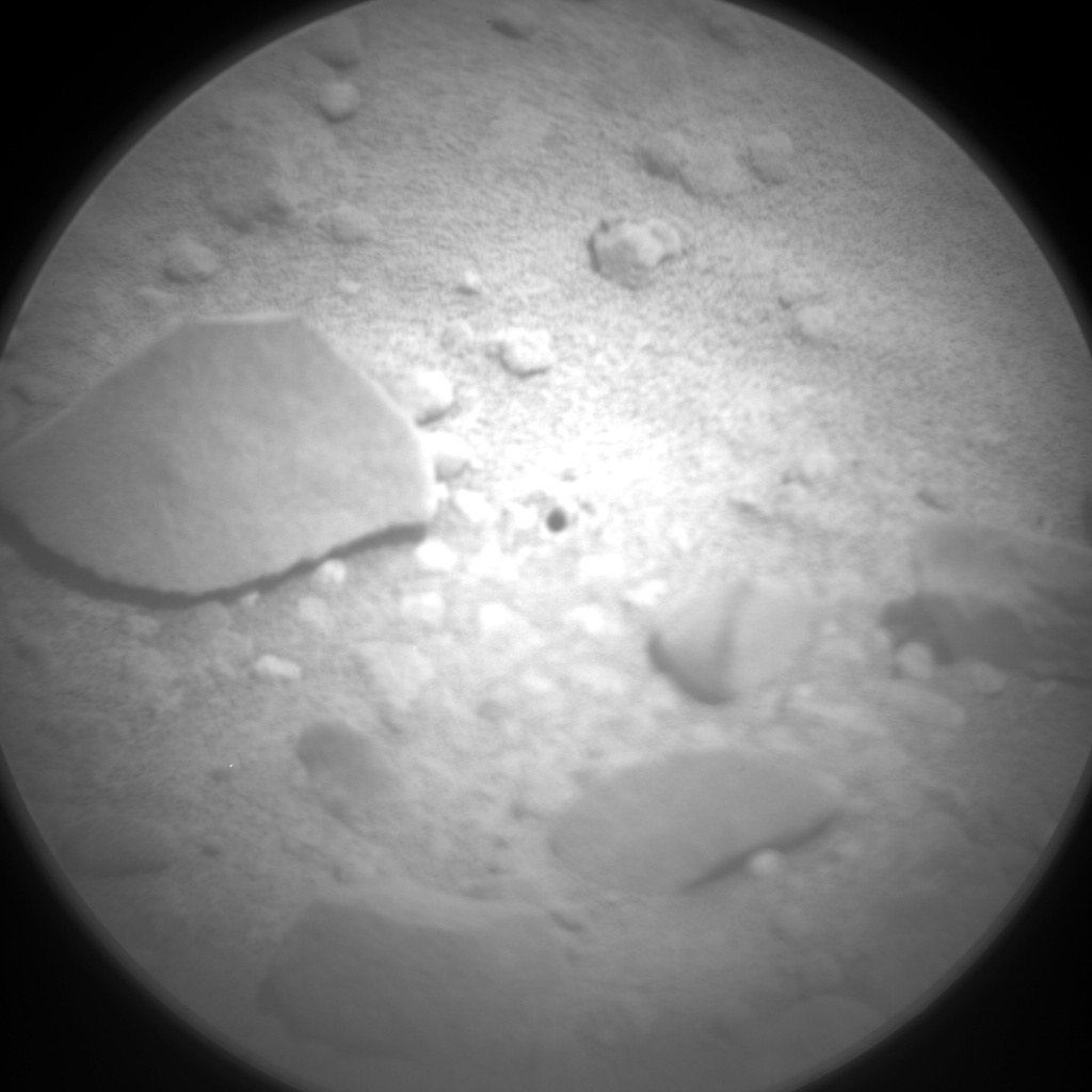 Nasa's Mars rover Curiosity acquired this image using its Chemistry & Camera (ChemCam) on Sol 352, at drive 302, site number 11