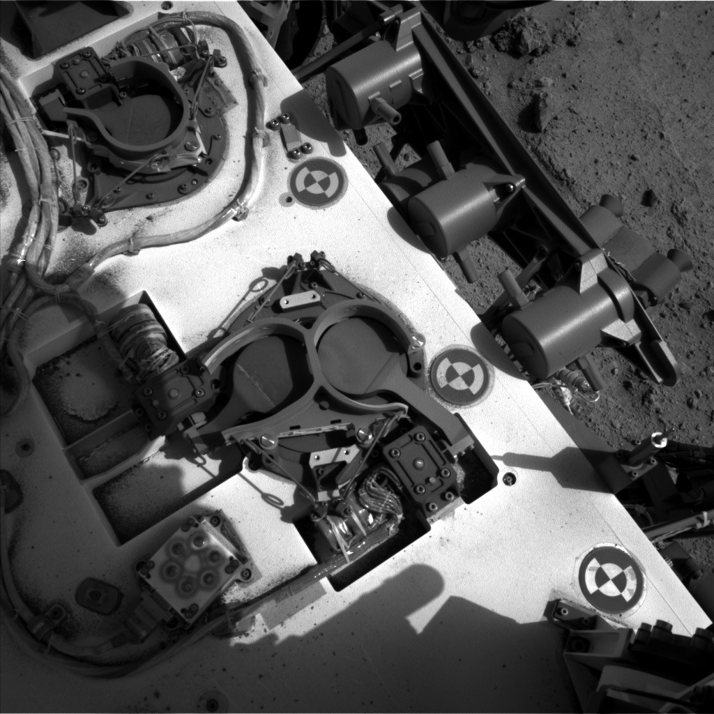 NASA's Mars rover Curiosity acquired this image using its Left Navigation Camera (Navcams) on Sol 353
