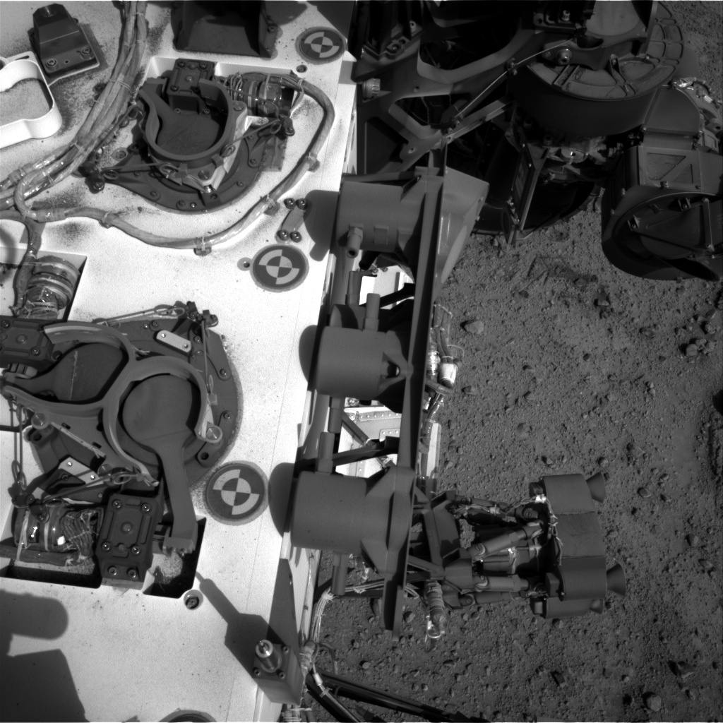 Nasa's Mars rover Curiosity acquired this image using its Right Navigation Camera on Sol 353, at drive 302, site number 11