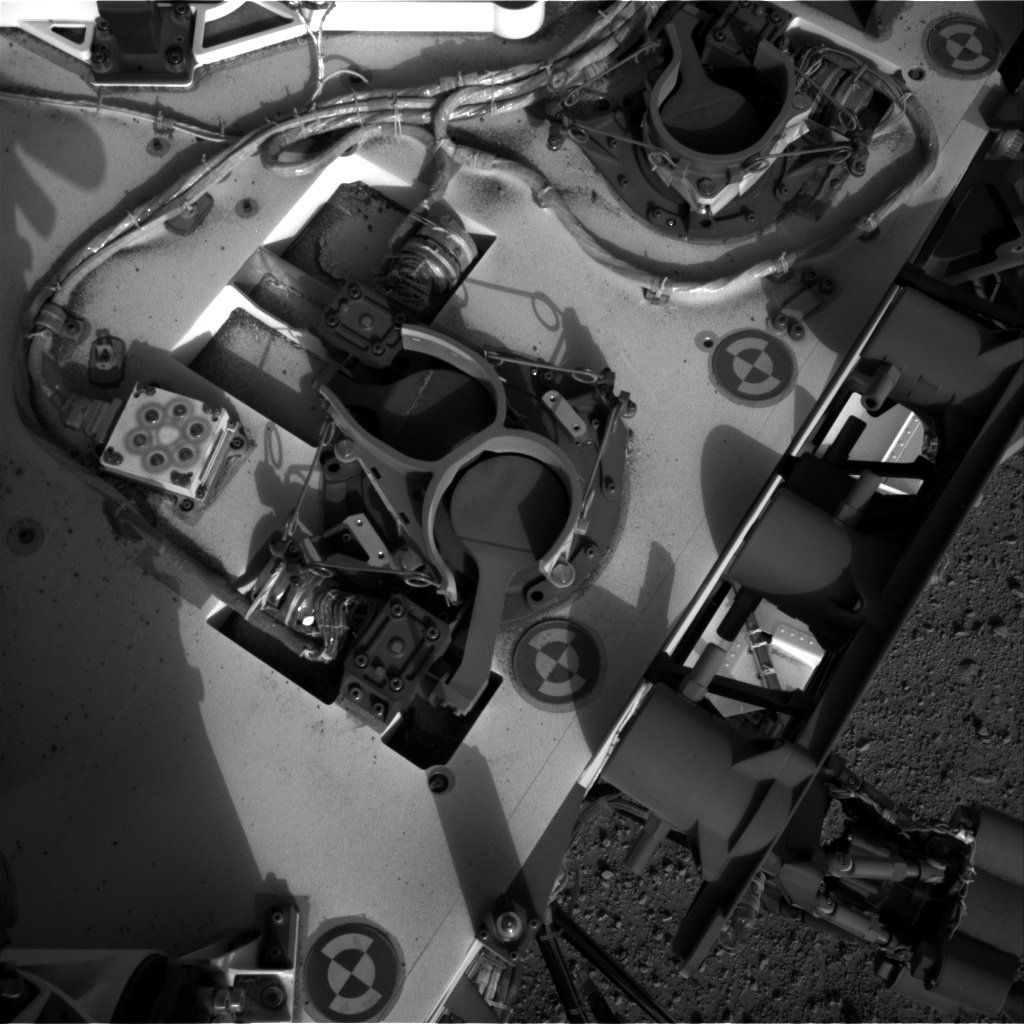 NASA's Mars rover Curiosity acquired this image using its Right Navigation Cameras (Navcams) on Sol 353