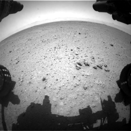 Nasa's Mars rover Curiosity acquired this image using its Front Hazard Avoidance Camera (Front Hazcam) on Sol 354, at drive 512, site number 11