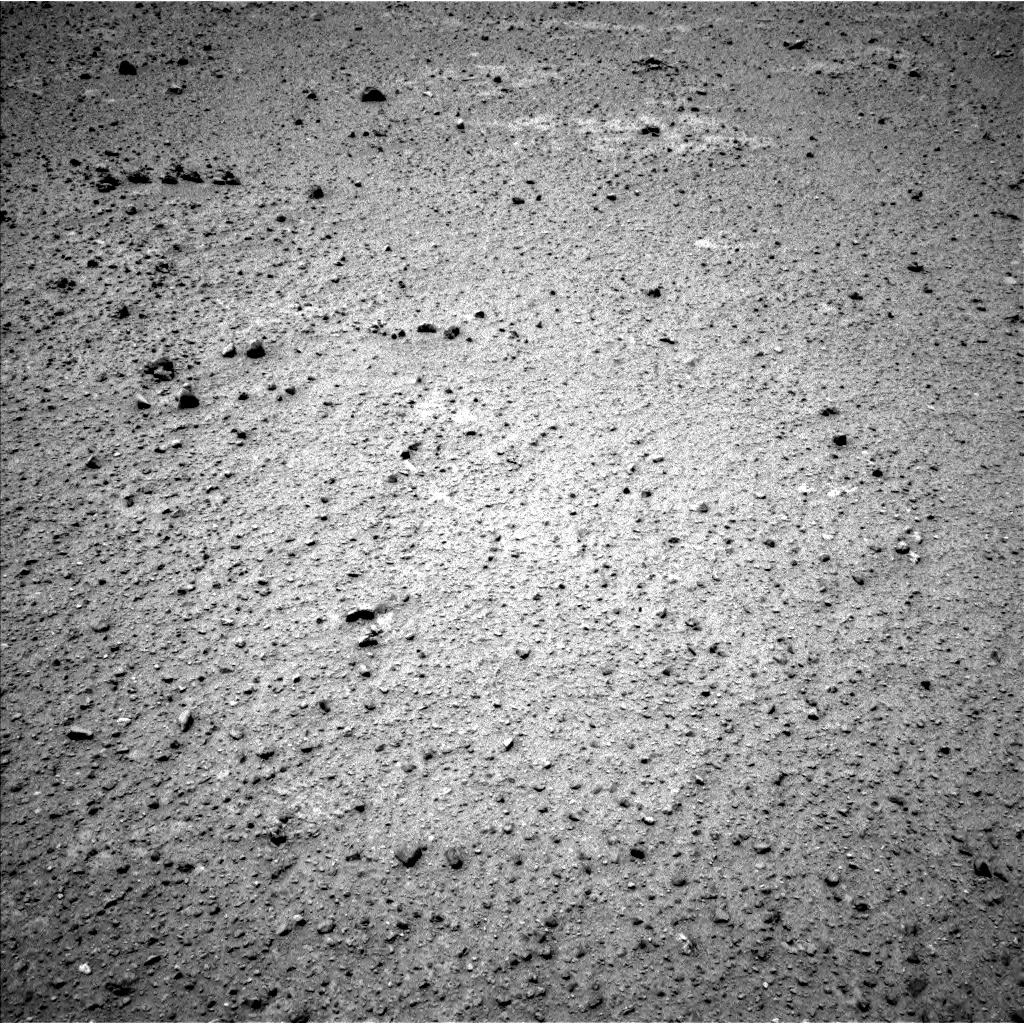 Nasa's Mars rover Curiosity acquired this image using its Left Navigation Camera on Sol 354, at drive 482, site number 11