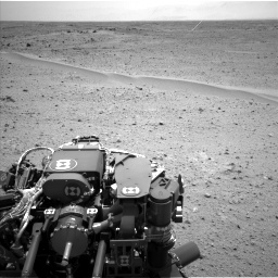 Nasa's Mars rover Curiosity acquired this image using its Left Navigation Camera on Sol 354, at drive 512, site number 11
