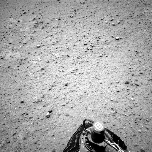 NASA's Mars rover Curiosity acquired this image using its Left Navigation Camera (Navcams) on Sol 354