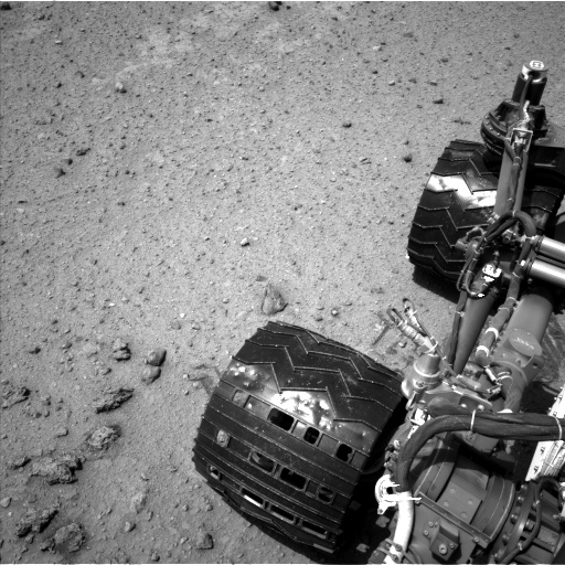 Nasa's Mars rover Curiosity acquired this image using its Left Navigation Camera on Sol 354, at drive 522, site number 11