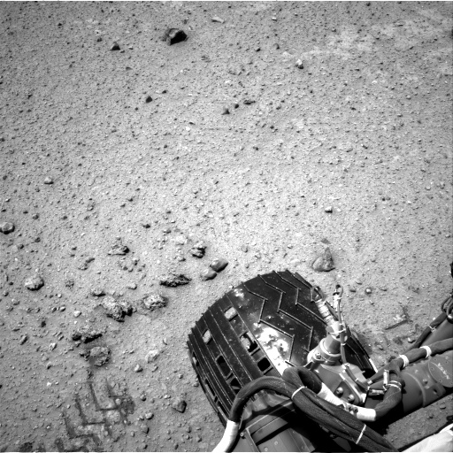 Nasa's Mars rover Curiosity acquired this image using its Right Navigation Camera on Sol 354, at drive 522, site number 11