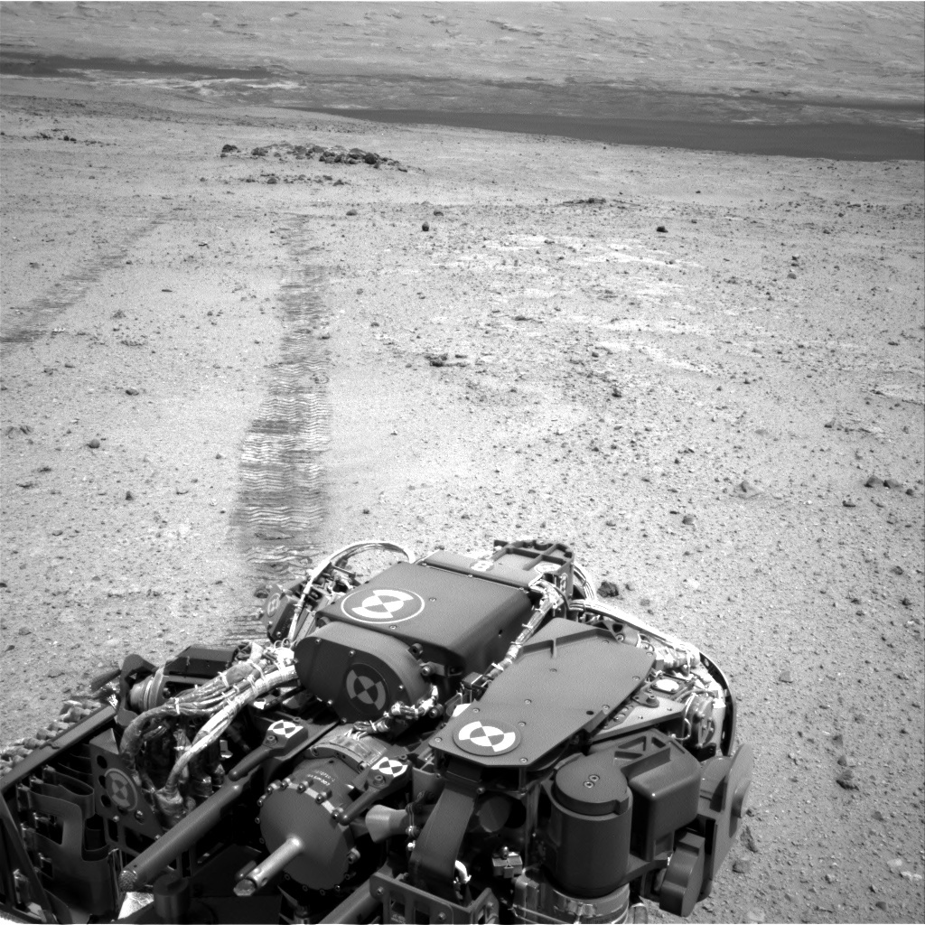 NASA's Mars rover Curiosity acquired this image using its Right Navigation Cameras (Navcams) on Sol 354