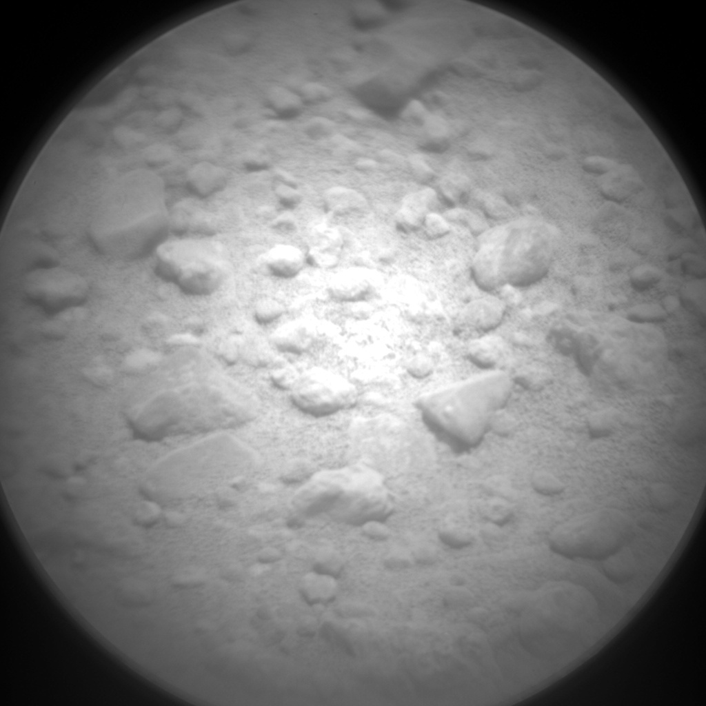 NASA's Mars rover Curiosity acquired this image using its Chemistry & Camera (ChemCam) on Sol 355