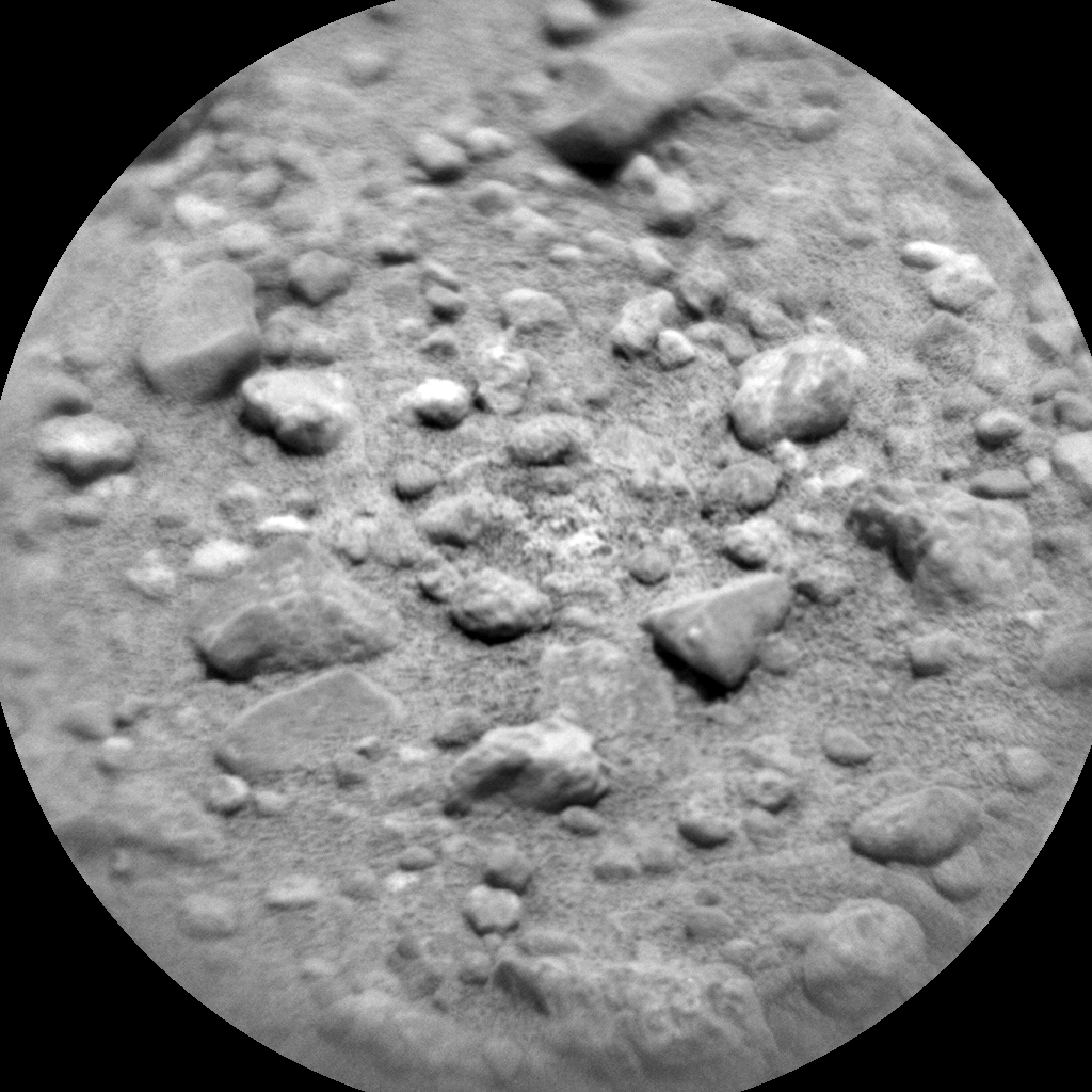 Nasa's Mars rover Curiosity acquired this image using its Chemistry & Camera (ChemCam) on Sol 355, at drive 522, site number 11