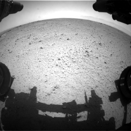 Nasa's Mars rover Curiosity acquired this image using its Front Hazard Avoidance Camera (Front Hazcam) on Sol 356, at drive 738, site number 11