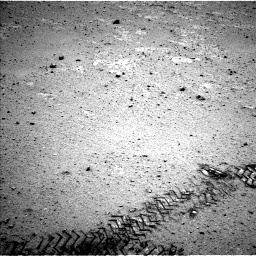 Nasa's Mars rover Curiosity acquired this image using its Left Navigation Camera on Sol 356, at drive 534, site number 11