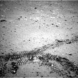 Nasa's Mars rover Curiosity acquired this image using its Left Navigation Camera on Sol 356, at drive 540, site number 11