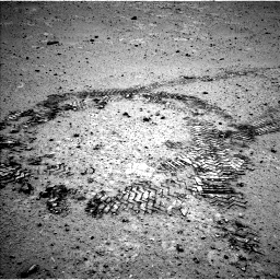 Nasa's Mars rover Curiosity acquired this image using its Left Navigation Camera on Sol 356, at drive 558, site number 11