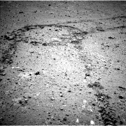 Nasa's Mars rover Curiosity acquired this image using its Left Navigation Camera on Sol 356, at drive 576, site number 11