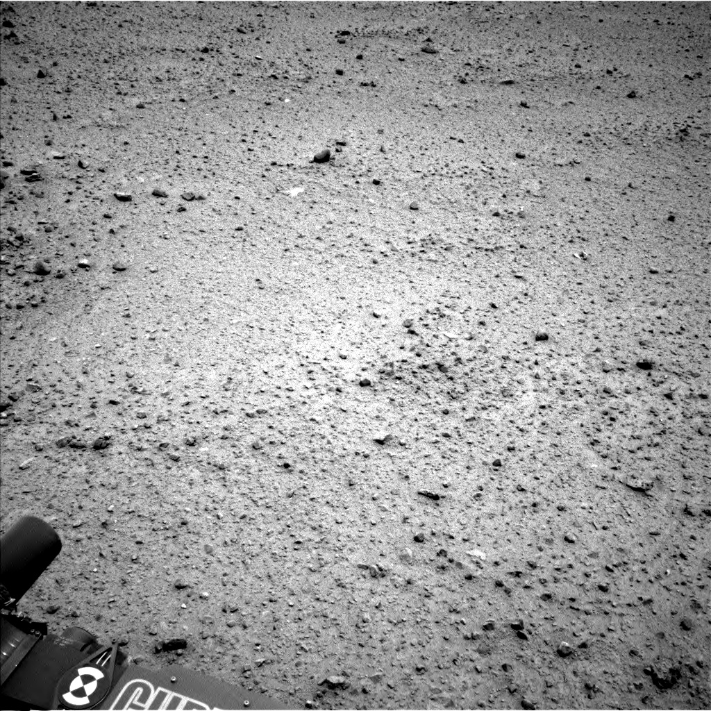 Nasa's Mars rover Curiosity acquired this image using its Left Navigation Camera on Sol 356, at drive 720, site number 11