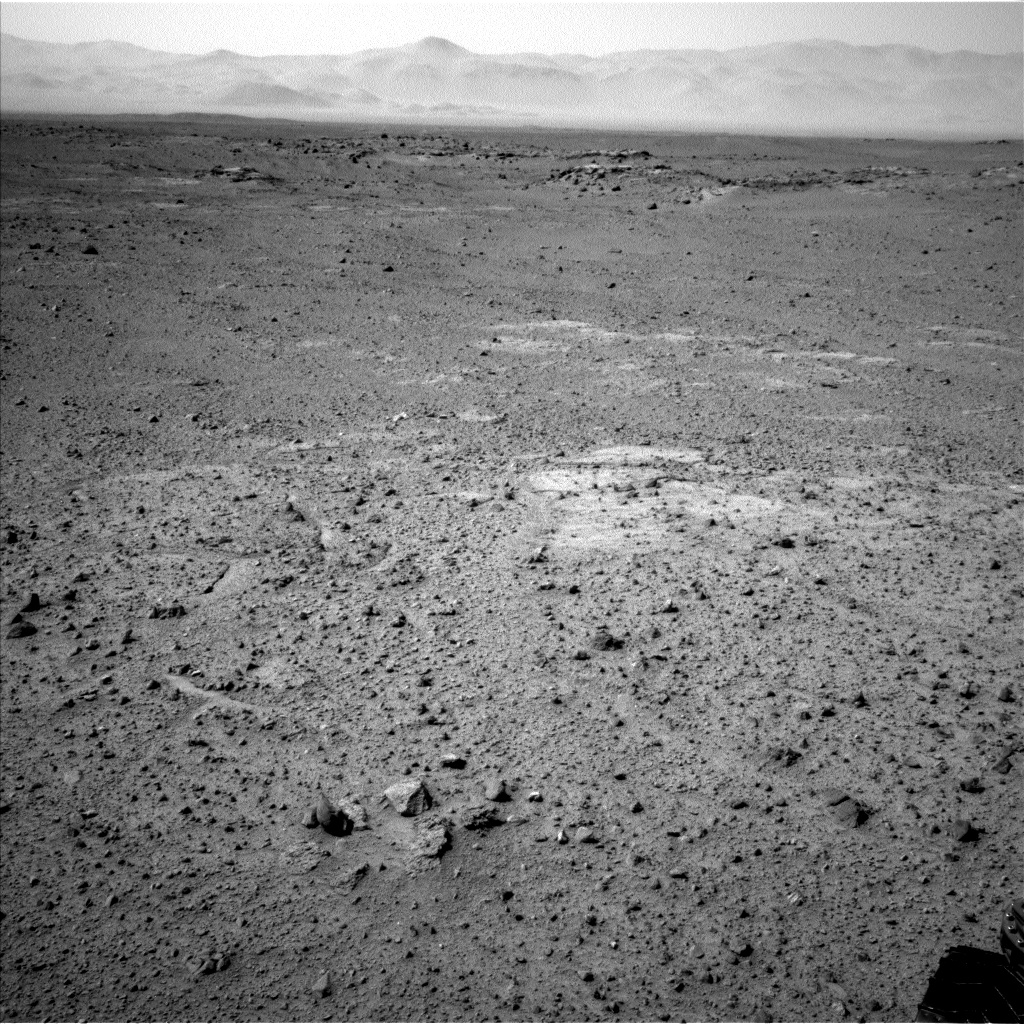 Nasa's Mars rover Curiosity acquired this image using its Left Navigation Camera on Sol 356, at drive 748, site number 11