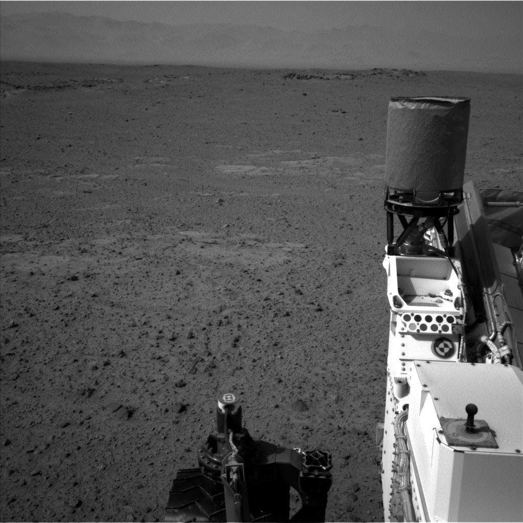 NASA's Mars rover Curiosity acquired this image using its Left Navigation Camera (Navcams) on Sol 356