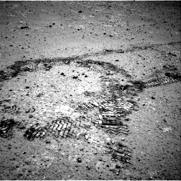 Nasa's Mars rover Curiosity acquired this image using its Right Navigation Camera on Sol 356, at drive 558, site number 11