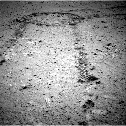 Nasa's Mars rover Curiosity acquired this image using its Right Navigation Camera on Sol 356, at drive 588, site number 11