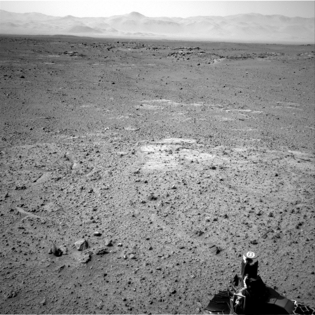 NASA's Mars rover Curiosity acquired this image using its Right Navigation Cameras (Navcams) on Sol 356