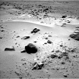 Nasa's Mars rover Curiosity acquired this image using its Left Navigation Camera on Sol 358, at drive 826, site number 11
