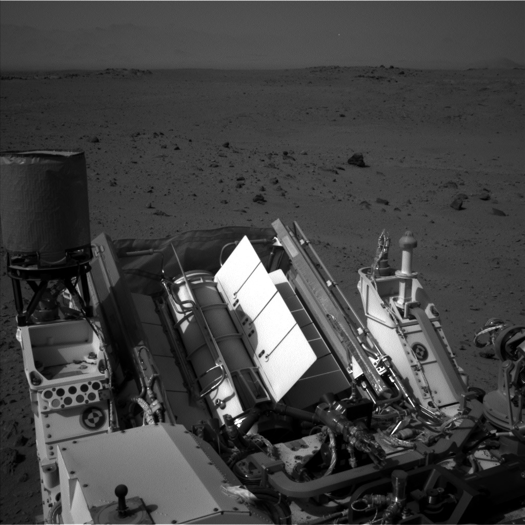 NASA's Mars rover Curiosity acquired this image using its Left Navigation Camera (Navcams) on Sol 358