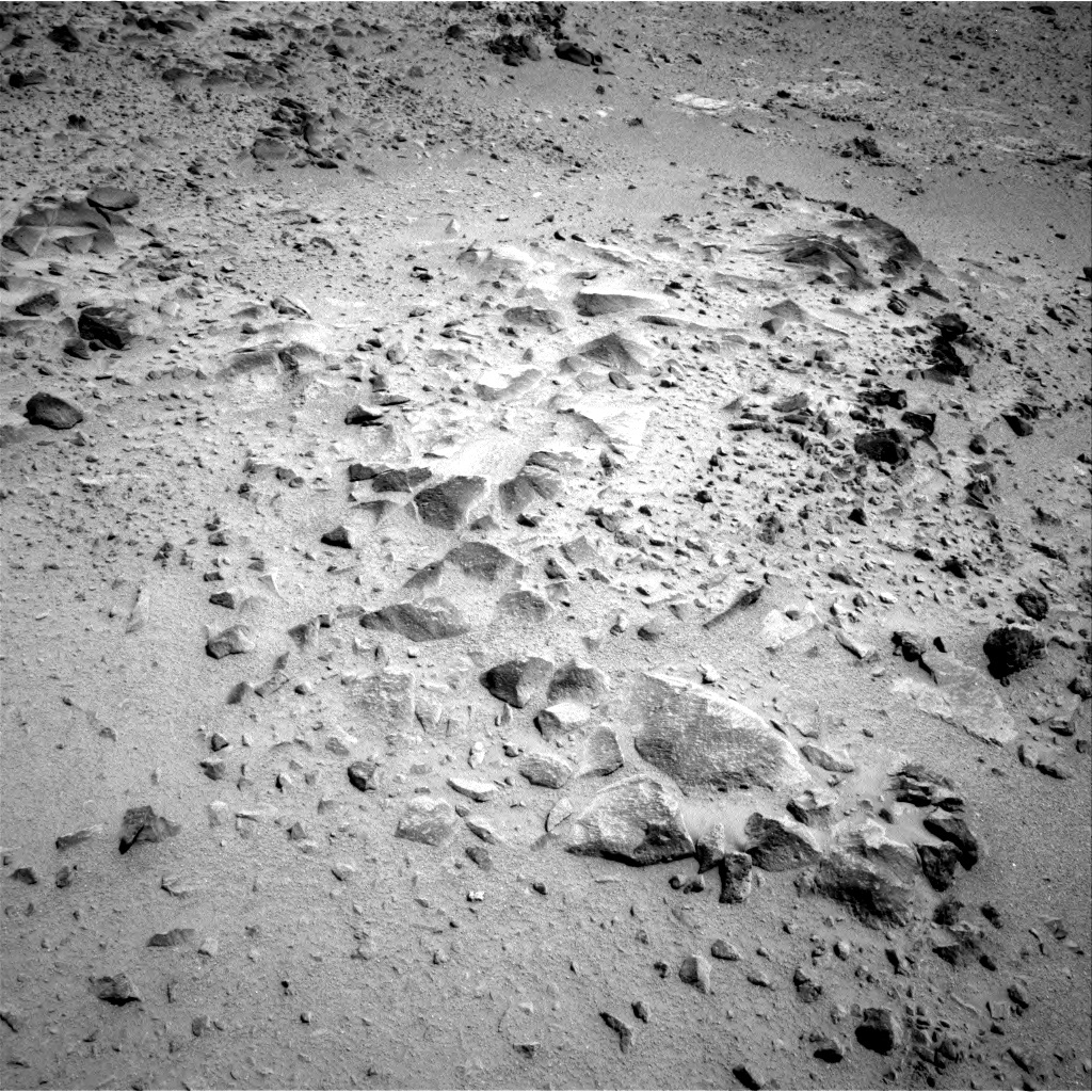 NASA's Mars rover Curiosity acquired this image using its Right Navigation Cameras (Navcams) on Sol 358