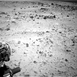 Nasa's Mars rover Curiosity acquired this image using its Right Navigation Camera on Sol 358, at drive 874, site number 11