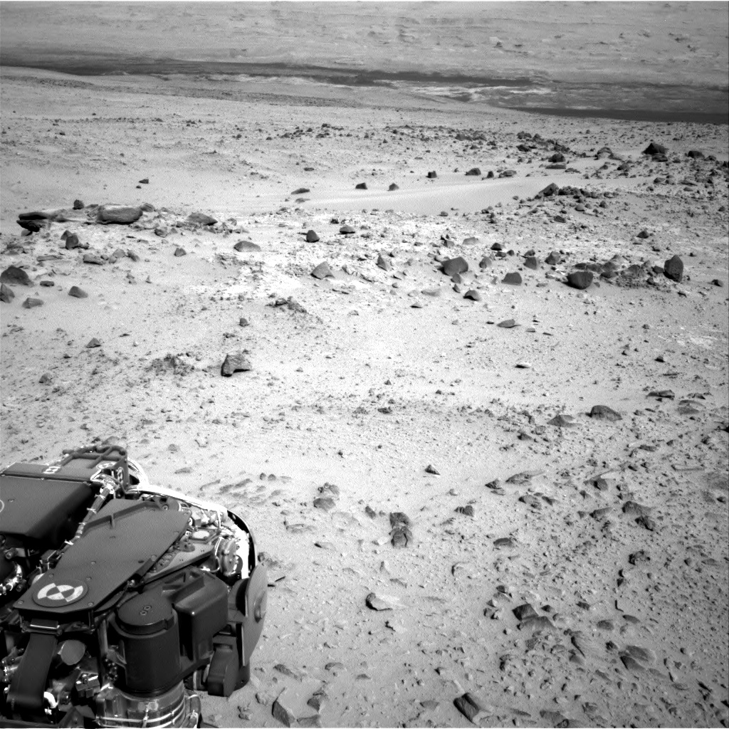 Nasa's Mars rover Curiosity acquired this image using its Right Navigation Camera on Sol 358, at drive 0, site number 12