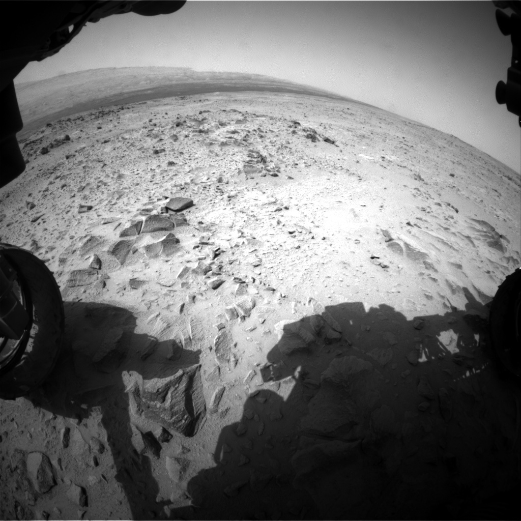 NASA's Mars rover Curiosity acquired this image using its Front Hazard Avoidance Cameras (Front Hazcams) on Sol 359